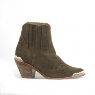 Lois Chelsea Heel Brown