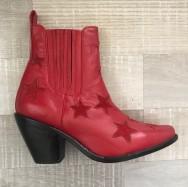 Vegas Boot Bright Red