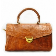 Dr Bag Croco Vintage Brown April Pre-Order