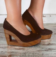 Tilda Suede Chocolate