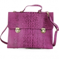 Abbie Croco Purple