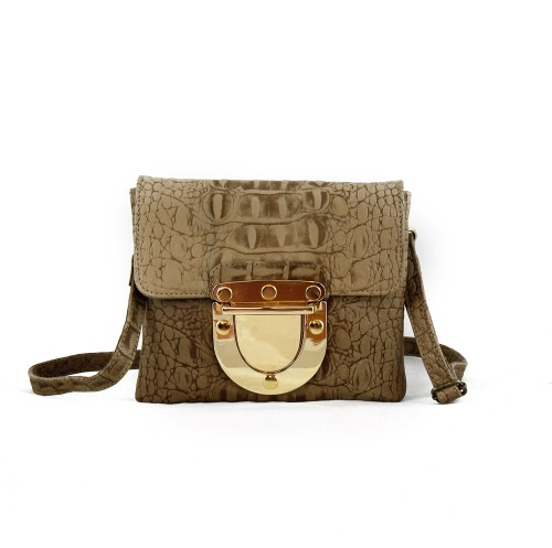 Marlenne Mini Croco Camel