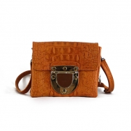 Marlenne Mini Croco Orange