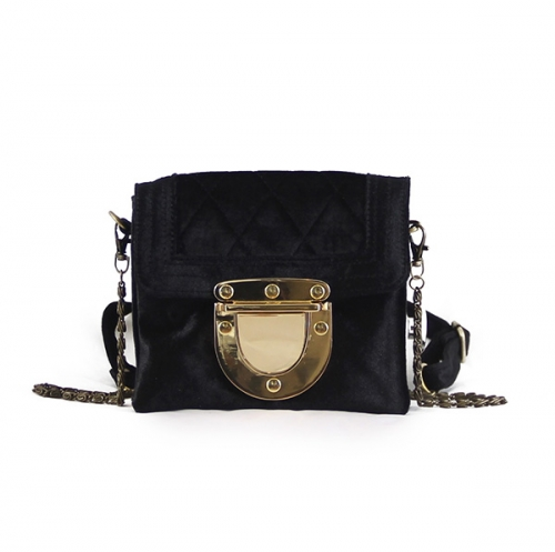 Marlenne Mini Velvet Black