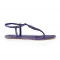 Leaves Snake Sandal Purple