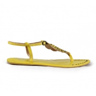 Leaves Snake Sandal Yelow