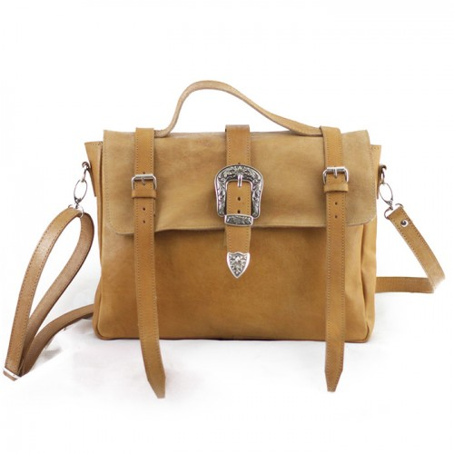 Brando Satchel  Honey