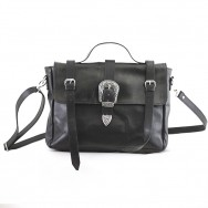 Brando  Satchel Black