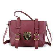 The Mini CLASSIC L Burgundy