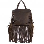 Jill Fringe Washed Chocolate April Pre-Order