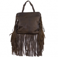 Jill Fringe Washed Chocolate May Pre-Order