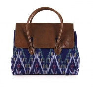 Jill Flap Ikat Blue