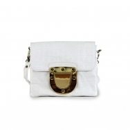 Marlenne Mini Croco White