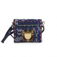 Marlenne Mini Ikat Blue