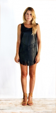 Jagger Sleeveless Dress Black - March Pre-Order