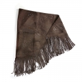 Wanderlust Scarf Washed Chocolate - May Pre-order