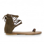 Jenny Brown Suede