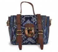 The Mini Ikat Blue