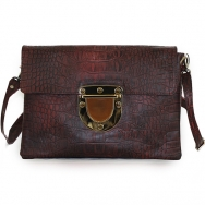Marlenne Croco Washed Burgundy
