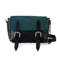 Rocco Calf Black-Green