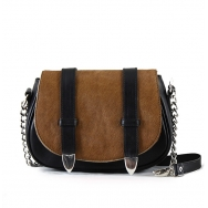 Tasha Calf Mini Black-Brown