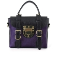 The Mini Trotter Black-Aubergine
