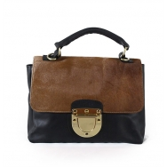 Valentina Calf Black-Brown