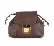 Louise Backpack Chocolate Antique