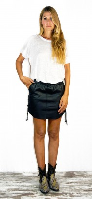 Erin Laced Mini Skirt Black