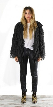 Mohair Jacket Black