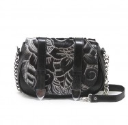 Tasha Mini Carved Black