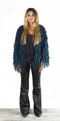 Mohair Jacket Teal