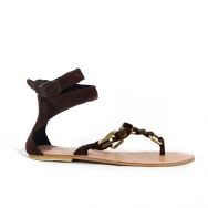 Anais Sandal Chocolate