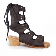 Anetta Sandal Dark Grey