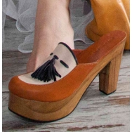 Bette Clogs Orange