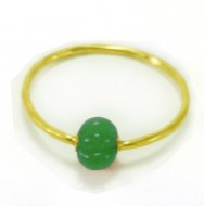 Blossom Bangle Emerald